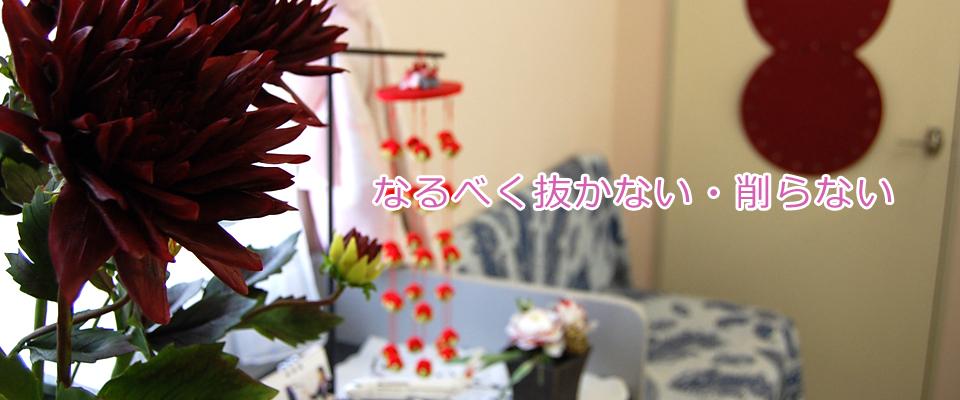 秋田市の歯医者、東京歯科クリニックではなるべく抜かない削らない治療をいたします